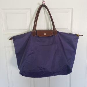 Tote bag in purple